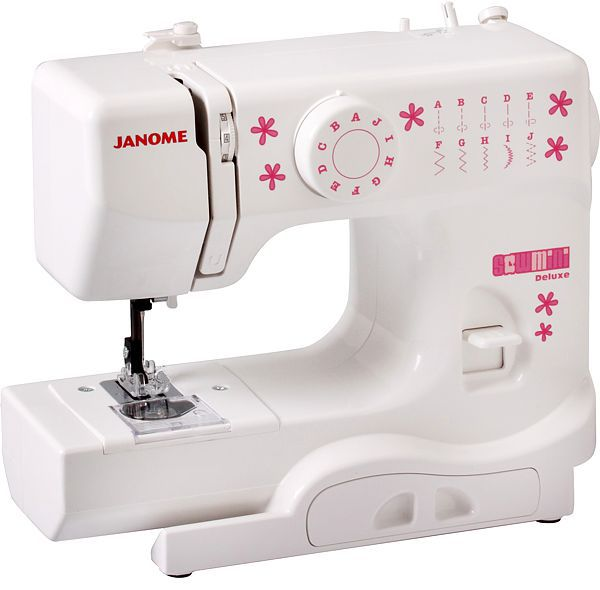 Janome Sew Mini DeluxeJanome<br>Швейная машина Janome Sew Mini Deluxe - для тех, кто только начинает свой швейный путь. Минимальный набор операций и возможностей по очень демократичной цене.<br>