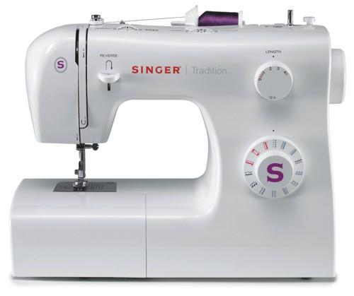 Singer 2263 TraditionSinger<br>Швейная машина  Singer 2263 - вертикальное челночное устройство, выполняет 22 строчки (25 операций). В комплекте имеет 4 лапки. Отличается современным дизайном, возможностью плавной регулировки ширины, длины стежка.<br>