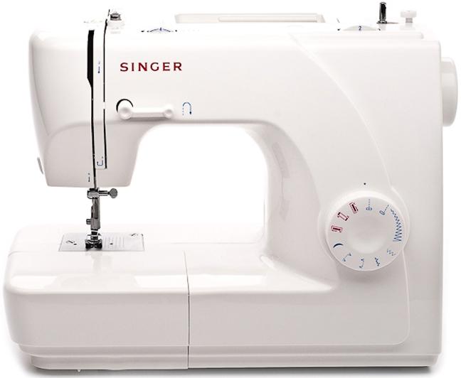 Singer 1507Singer<br>8 строчек, петля в полуавтоматическом режиме, в комплекте 4 лапки, чехол мягкий. Челнок - вертикальный.<br>