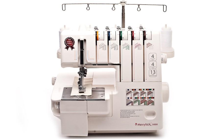 Оверлок Merrylock 5000 (2/3/4/5-ти нит.)Оверлоки Merrylock<br>5-и ниточный коверлок. Оверлок + плоскошовная машина. Регулировка давления лапки на ткань, дифференциал.<br>