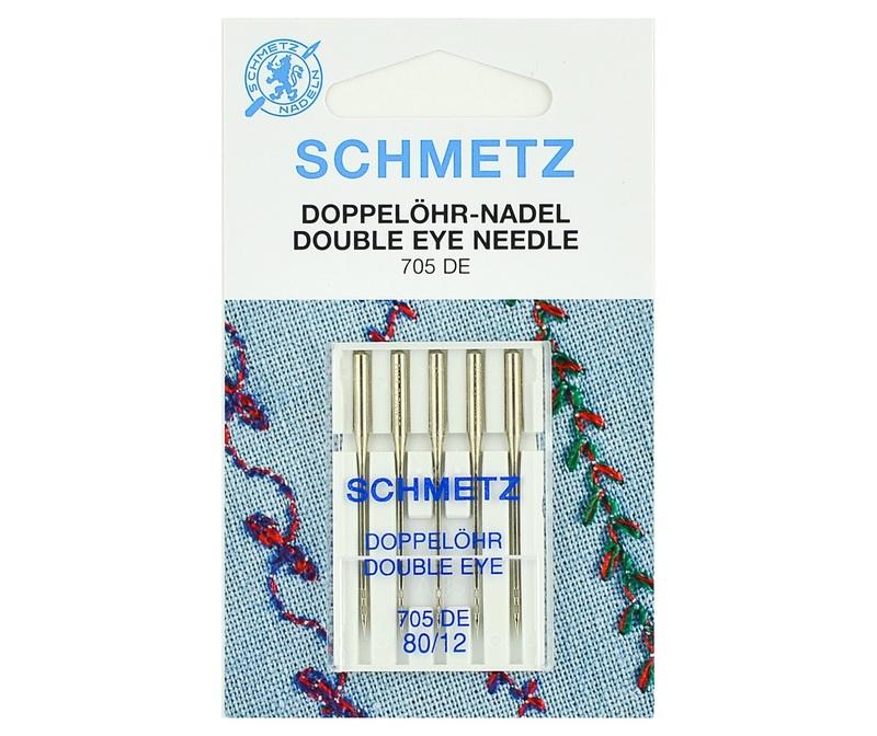Игла SCHMETZ с 2-мя ушками для декорат.работ № 80 (5 шт)Schmetz<br><br>