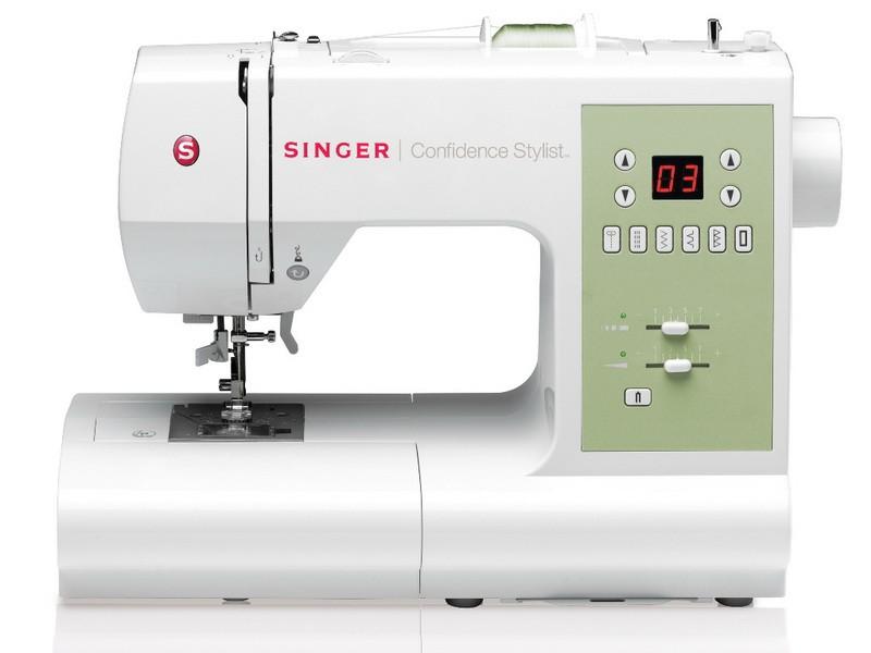 Singer 7467 ConfidenceSinger<br>70 строчек, 3 петли в автоматическом режиме, в комплекте 4 лапки, чехол мягкий. Челнок - горизонтальный.<br>
