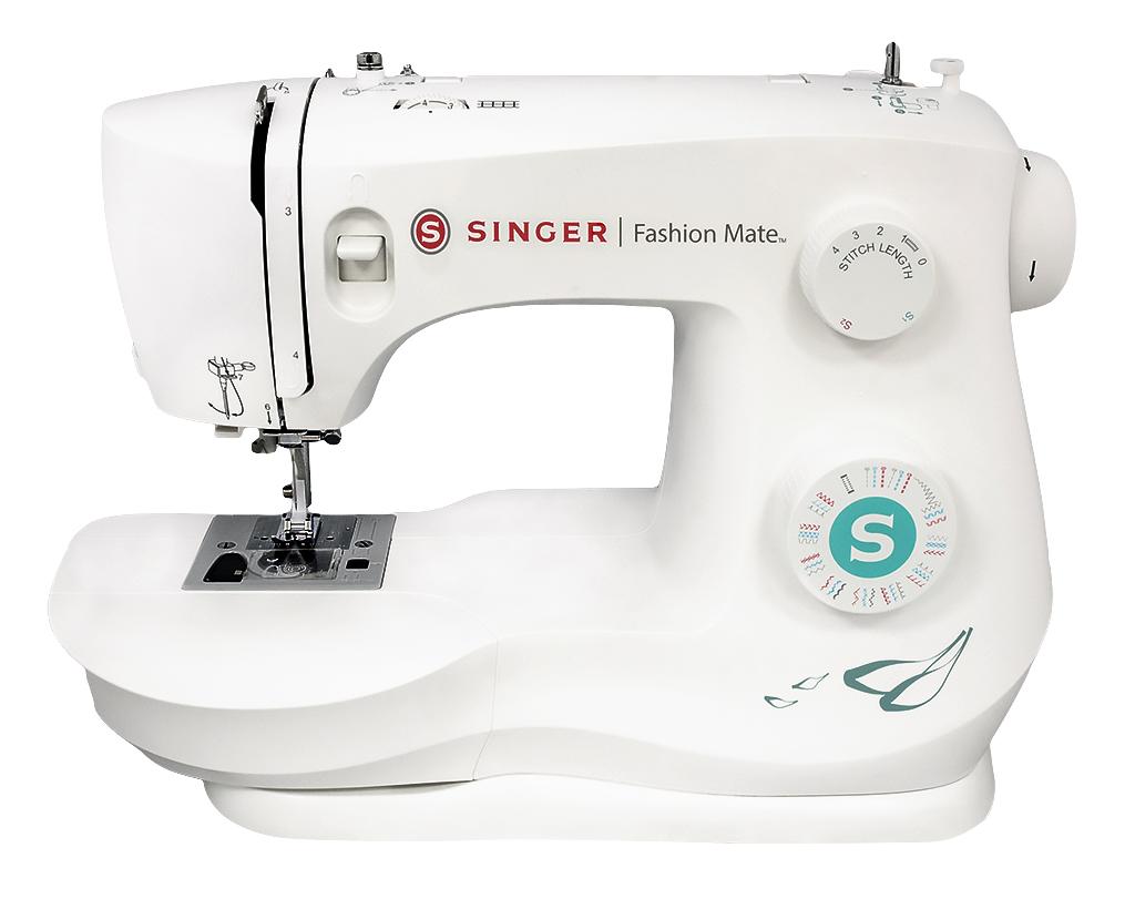 Singer 3337 Fashion MateSinger<br>Швейная машина Singer Fashion Mate 3337. 37 операций (26 строчек). Петля - автомат, нитевдевающее устройство, 4 лапки в комплекте, мягкий чехол.<br>