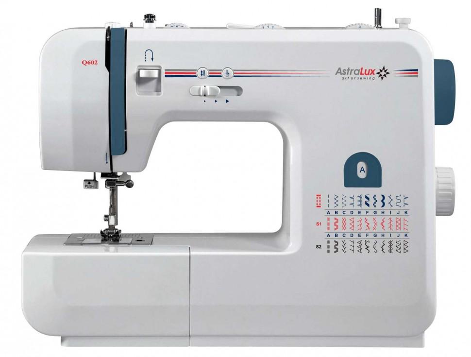 Astralux Q602Astralux<br>34 операции, 1 автоматическая петля. Плавная регулировка скорости.<br>