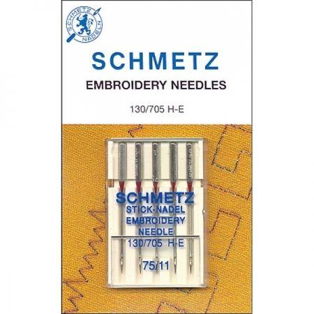 Игла SCHMETZ вышивальные № 75 ( 5 шт )Schmetz<br><br>