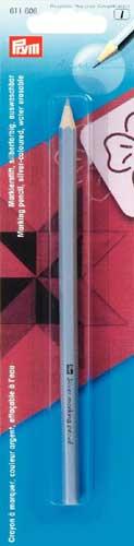 611606 prym маркировочный карандаш, смываемый водой, серебристый, в