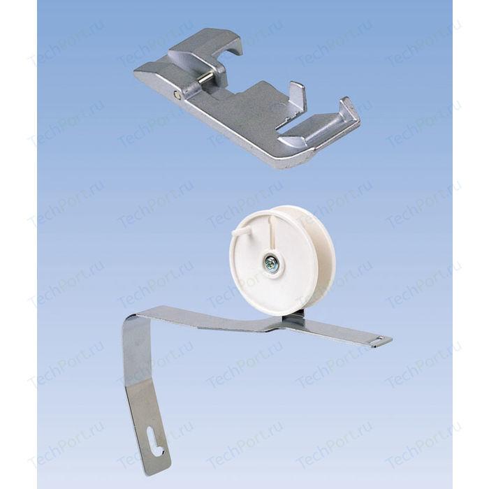 """Janome 200204208 Лапка для пришивания ленты,тесьмы с укладчиком """" В"""" к ов.My Lock"""