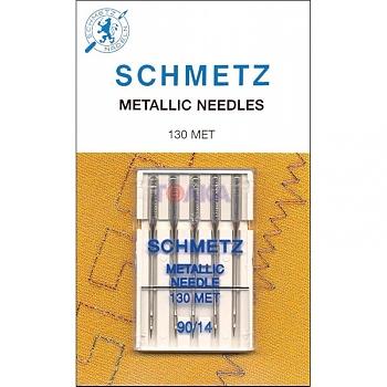 Игла SCHMETZ для ниток металлик № 90 (5 шт) фото
