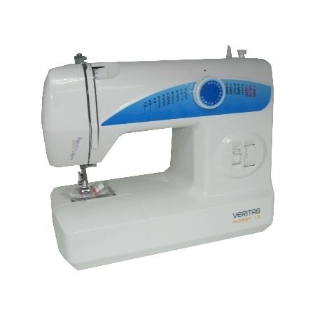 Veritas HOBBY 12Veritas<br>Швейная машина Veritas HOBBY 12. 10 строчек. Петля-полуавтомат. 3 лапки в комплекте.<br>