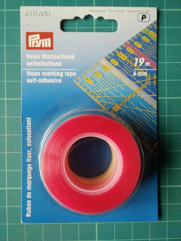 610600 Prym Неоновая маркировочная лента, 19м, 3 шт. в блистереДля измерения и маркировки<br><br>