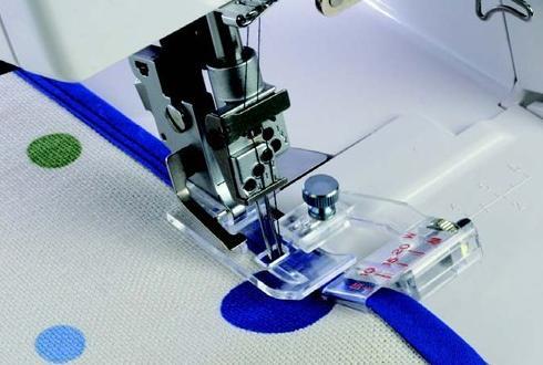200810007 Лапка для обработки косой бейкой к J 1200, F 9000 фото