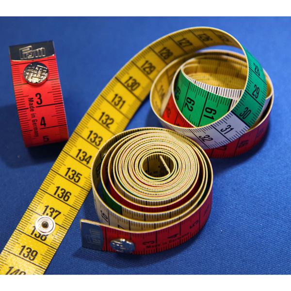 282460 Prym Измерительная лента Color plus с кнопкой, 1,5м