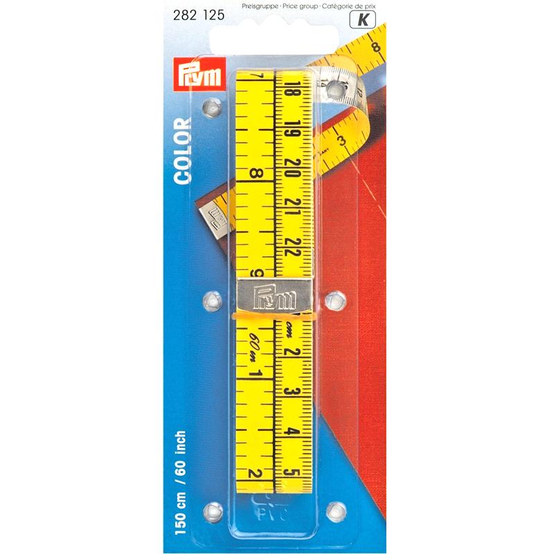 282125 Prym Измерительная лента Color Analog, 1,5м/60, в блистереДля измерения и маркировки<br>282125 Prym Измерительная лента Color Analog, 1,5м/60, в блистере<br>