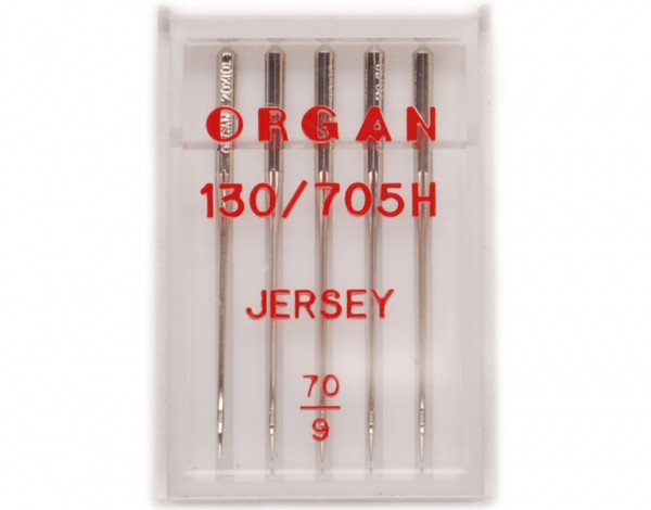 Иглы Organ джерси №70 (5шт.) фото