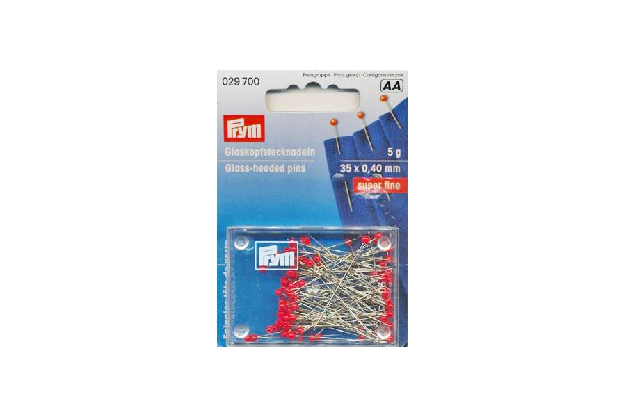 029700 Prym Булавки для тонких тканей 35х0,4 мм, 5г фото