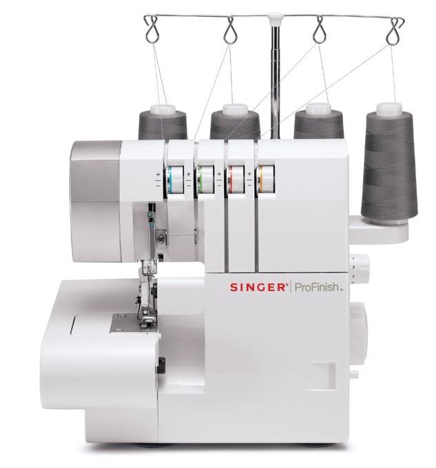 Оверлок Singer 14SH754Оверлоки Singer<br>Оверлок Singer 14SH754 - это 2/3/4-ниточная модель. Вы сможете прекрасно шить как плотные, так и тонкие ткани. Мощность 90 вт, регулятор давления лапки на ткань, рукавная платформа, облегченная заправка нитей в петлители.<br>