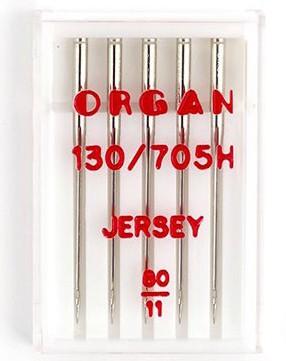 Иглы Organ джерси №80 (5шт.) фото